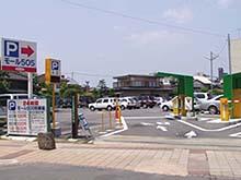 モール505駐車場